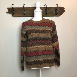 Vintage Cattiva thick Irish style sweater